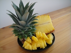 パイナップルの収穫!?