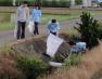 <ホタル保護プロジェクト> 川掃除