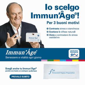 イタリアの有名なTV司会者ジェリー・スコッティ氏がImmun' Âgeの新しい顔に!