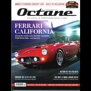 イギリスの雑誌『Octane(オクタン)』に広告掲載