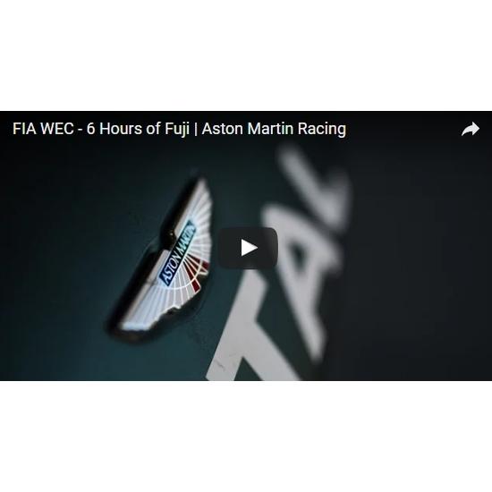 アストンマーティンレーシング、富士6時間耐久レースにてLMGTE-Amクラスで優勝