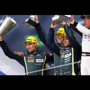 アストンマーティンレーシング新シーズン1戦目で表彰台を獲得