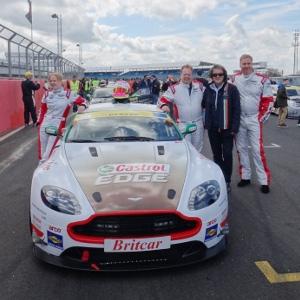 Aston Martin CEO の Andy Palmer シルバーストーンにて24時間レース初挑戦